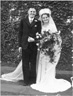 Ted and Jean Moll on their wedding day, 1946